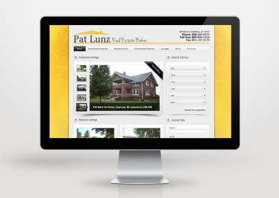 Real Estate Agent Website