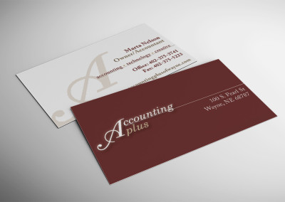 Accounting Plus Business Card